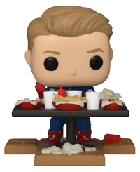 Marvel's Avengers: Victory Shawarma - Captain America Pop! Deluxe Figure