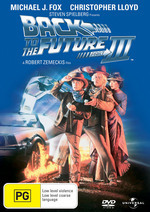 Back To The Future 3 on DVD