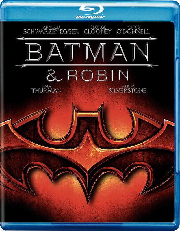 Batman & Robin on Blu-ray