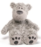 Gund: Slouchers Grey - Bear Plush (30cm)