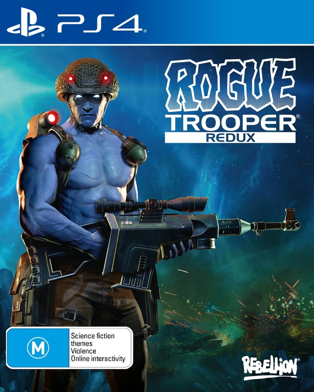 Rogue Trooper Redux for PS4