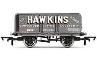 Hornby: 7 Plank Wagon, Hawkins