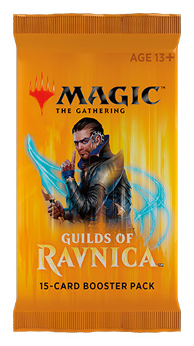 Magic The Gathering: Guilds of Ravnica Single Booster (15 Cards) image