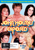 John Holmes Exposed (2 Disc Set) on DVD