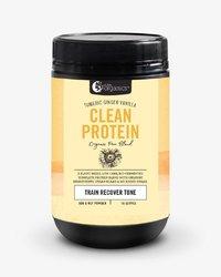 Nutra Organics Clean Protein Powder - Turmeric/Ginger (500g)