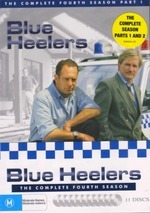 Blue Heelers - Complete Season 4 (11 Disc Box Set) on DVD