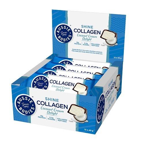 Aussie Bodies: Collagen - Coconut Cream Delight (12 x 45g)