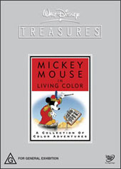 Disney Treasures - Mickey Mouse In Living Colour (2 Disc Set) on DVD