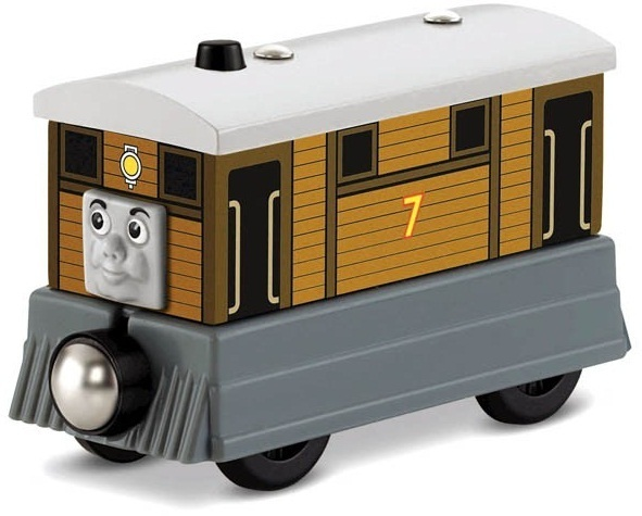 Thomas Friends Wooden Railway Toby Toy At Mighty Ape Nz