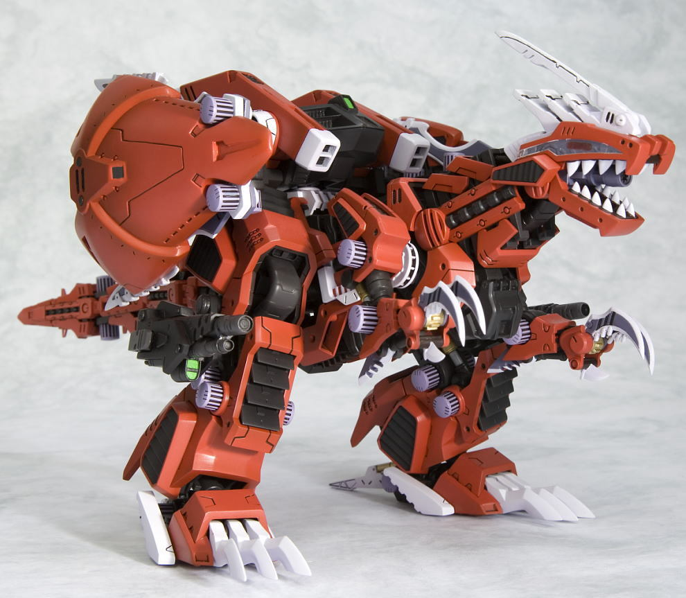 Zoids Hmm Geno Breaker Raven Custom 1 72 Model Kit At