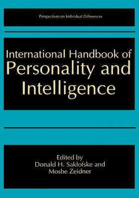 International Handbook of Personality and Intelligence image