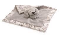 Gund: Spunky Puppy - Lovey Plush Blanket (Grey)
