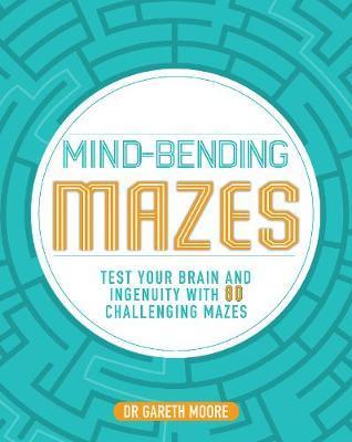 Mind-Bending Mazes by Parragon Books Ltd image