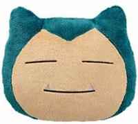 Pokemon: Big Snorlax Face Cushion: Sleeping - Plush image