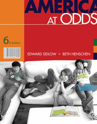 America at Odds by Edward Sidlow image