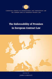 The Enforceability of Promises in European Contract Law image