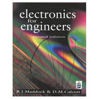 Electronics for Engineers by R.J. Maddock image