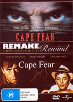 Cape Fear (1991 / 1962) - Remake & Rewind on DVD image