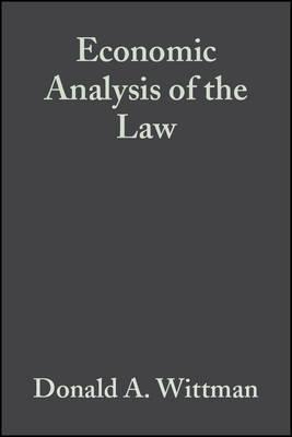 Economic Analysis of the Law image