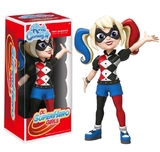 Super Hero Girls: Harley Quinn - Rock Candy Vinyl Figure