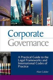 Corporate Governance by Alan Calder image