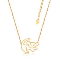 Disney Couture Junior Simba Gold Necklace