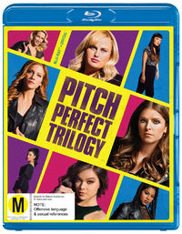 Pitch Perfect 1, 2 & 3 on Blu-ray