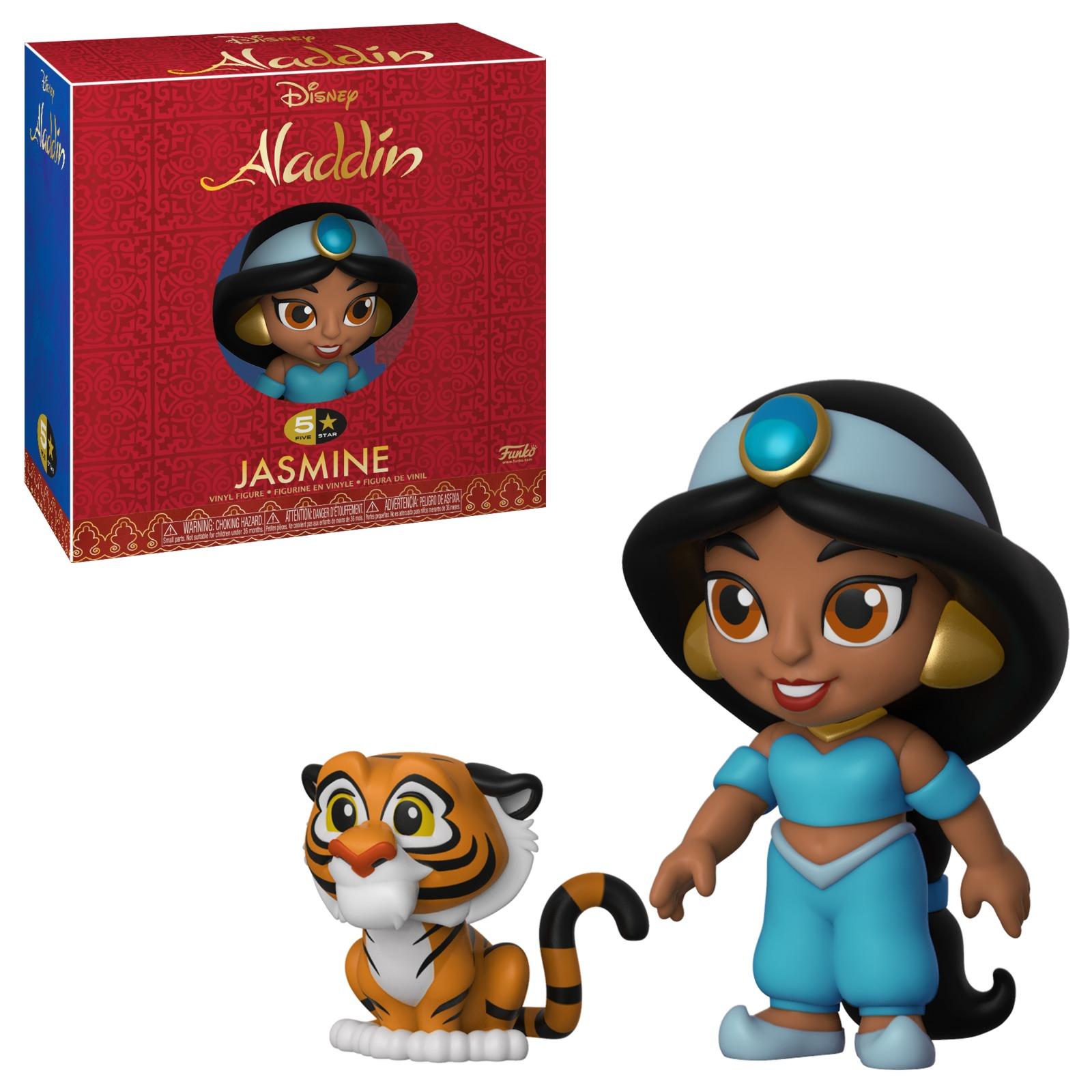 Aladdin: Jasmine with Rajah - 5-Star Vinyl Figure image