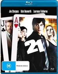 21 on Blu-ray