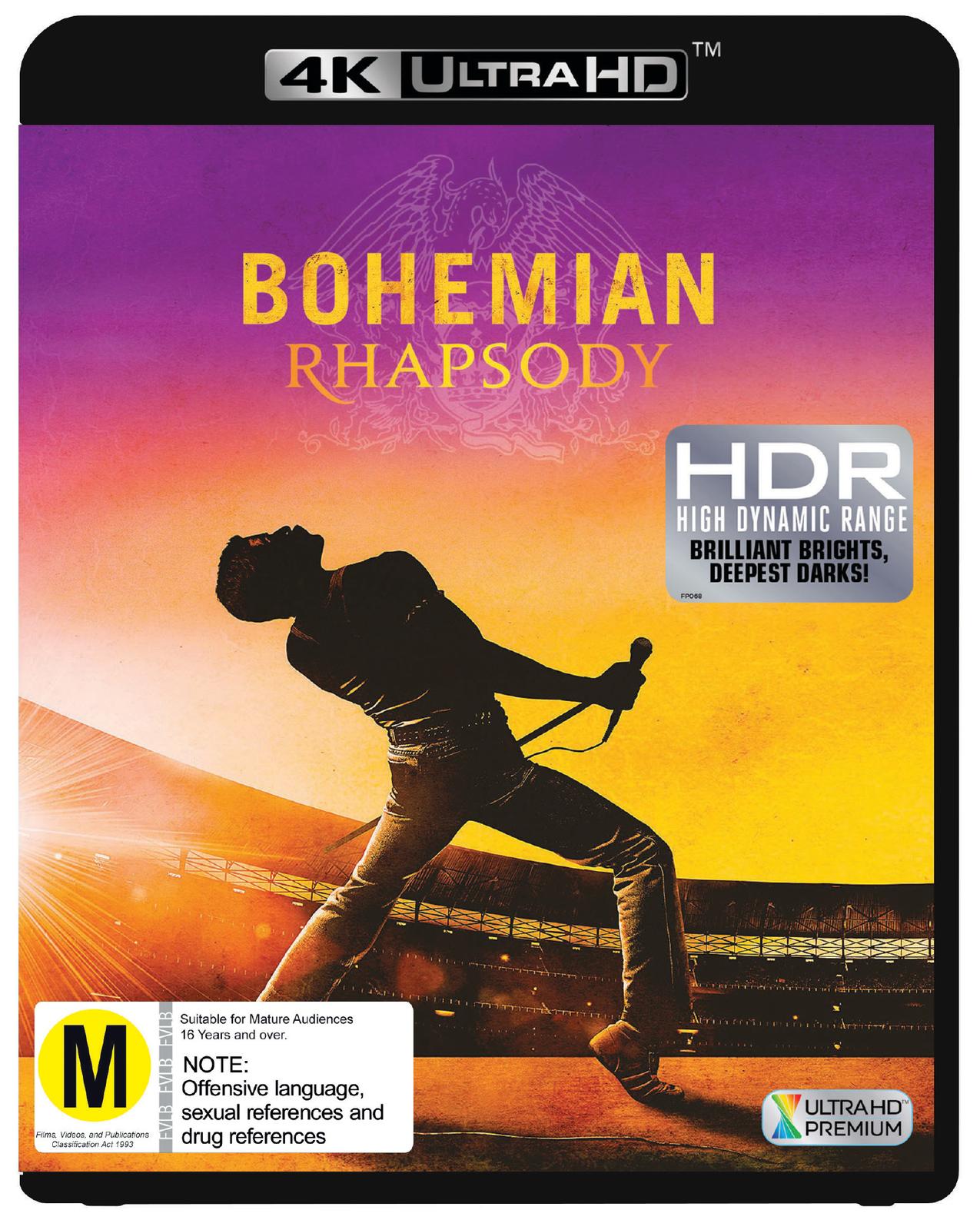 Bohemian Rhapsody on UHD Blu-ray image