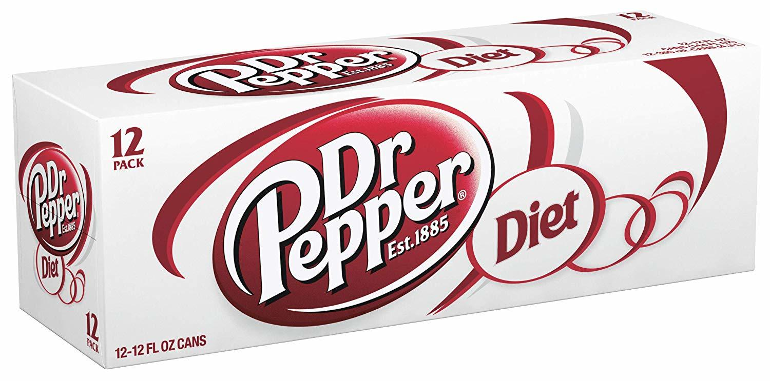 Diet Dr. Pepper Cans (330ml, 12pk) image