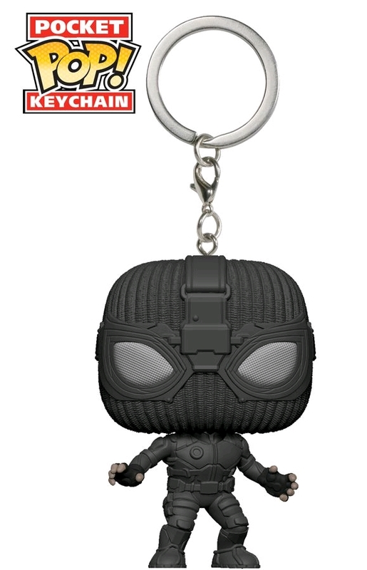 Marvel - Spider-Man: Far From Home - Stealth Suit Pocket Pop! Keychain