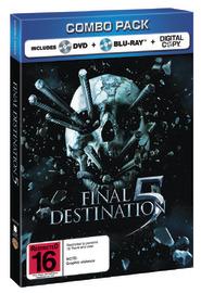 Final Destination 5 - Combo Pack: Blu-ray/DVD/Digital on DVD, Blu-ray, DC