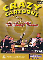 Crazy Cartoons - The Award Winners on DVD