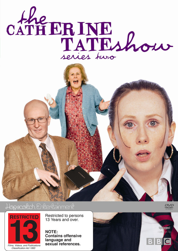 The Catherine Tate Show - Series 2 on DVD