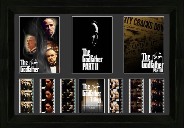 FilmCells: Triple-Cell Frame - The Godfather Trilogy