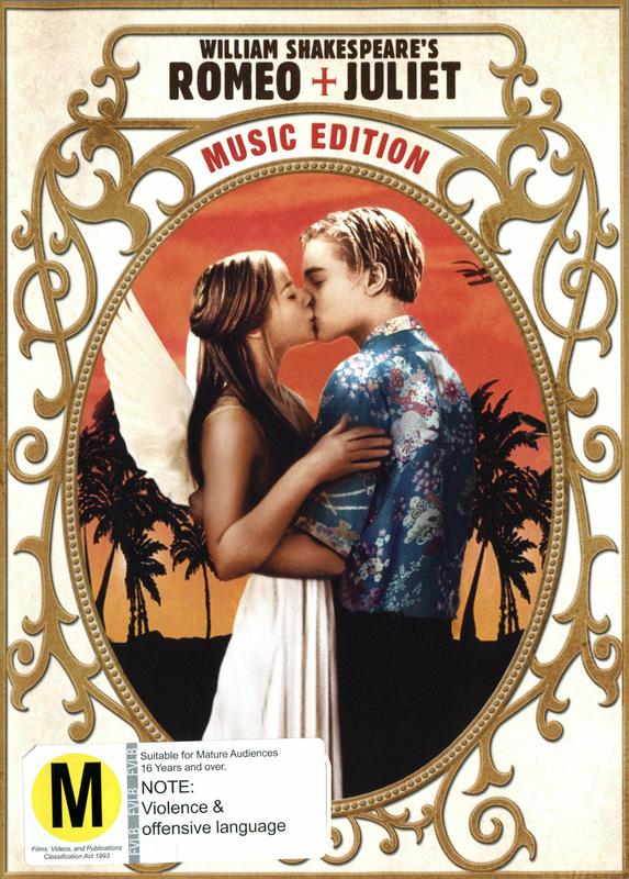 Romeo + Juliet (1996) - Music Edition on DVD