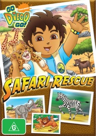 Go Diego Go! - Safari Rescue on DVD