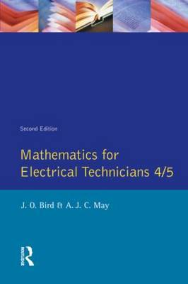 Mathematics for Electrical Technicians by John O. Bird image
