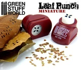 Green Stuff World - Miniature Leaf Punch (Red)