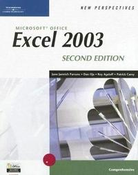 New Perspectives on Microsoft Office Excel 2003, Comprehensive, Second Edition by Roy Ageloff image