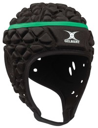 Gilbert Xact Headgear -Black (Large)