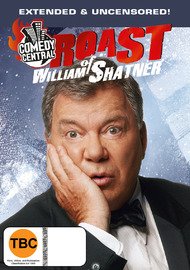 Comedy Central Roasts: William Shatner on DVD