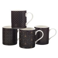 Maxwell & Williams Aster Mugs - Set of 4 (350ml)