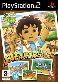 Go Diego Go!: Safari Rescue for PlayStation 2 image