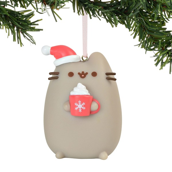 Xmas Pvc Hanging Ornament Meowy Christmas