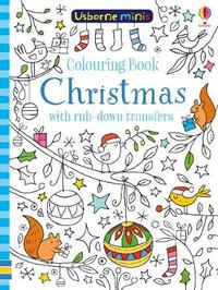 Colouring Book Christmas with Rub-Down Transfers by Sam Smith