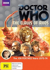Doctor Who: The Claws of Axos on DVD