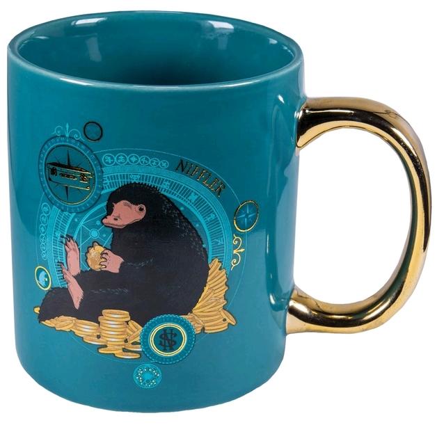 Fantastic Beasts - Niffler Gold Electroplated Mug