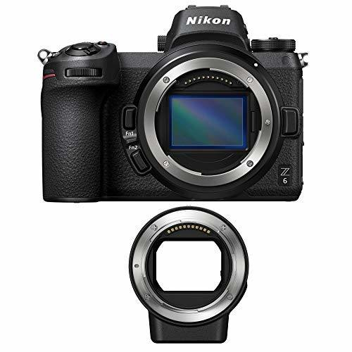 Nikon Z6 Mirrorless Digital Camera Body with FTZ Mount Adapter